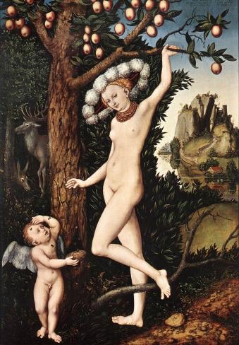 Cranach,_Cupid_Complaining_to_Venus